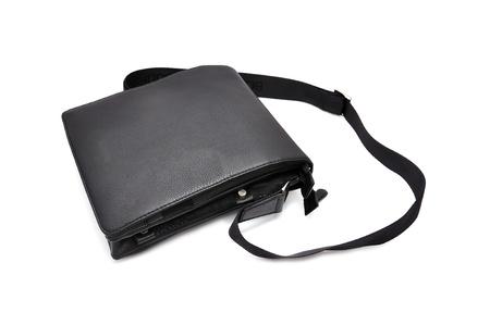 shoulder  bag  on a white background photo