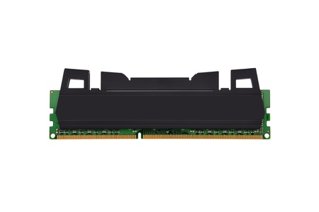 ddr3: strips of RAM on a white background