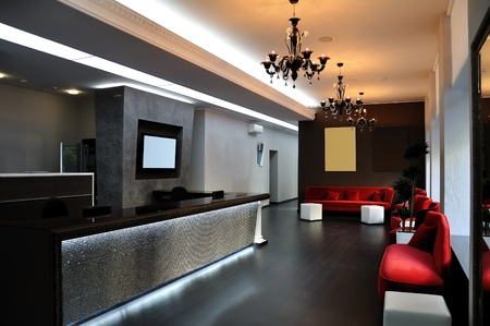 home office: modern Hall in Aparthotel