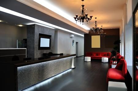 modern Hall in Aparthotel Stock Photo - 11829399