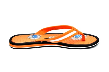 flip-flops on a white background