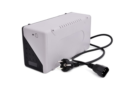 uninterruptible power supply on a white background photo