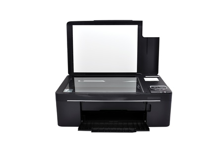 all-in-one printer on a white background photo