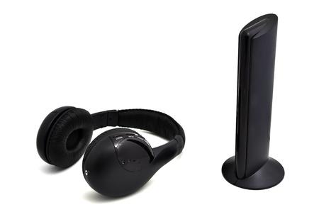 Hi-fi wireless headphones on a white background Stock Photo - 13334462