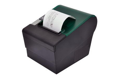 thermal printer for fiscal cash register and check Stock Photo - 13984818
