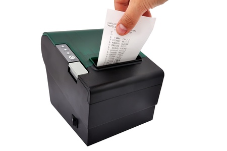 thermal printer for fiscal cash register and check