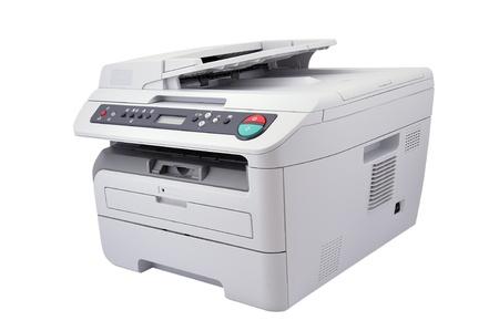 ホワイト バック グラウンドでコピー機