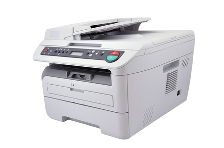 copier on a white background photo