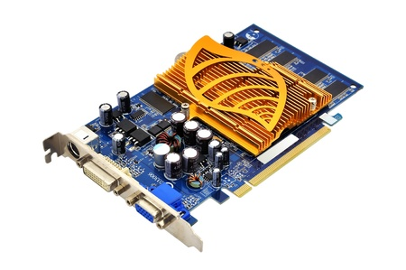 s video: graphics card with a copper radiator