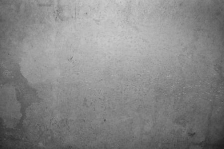old stone wall: gray old concrete wall background, close up Stock Photo
