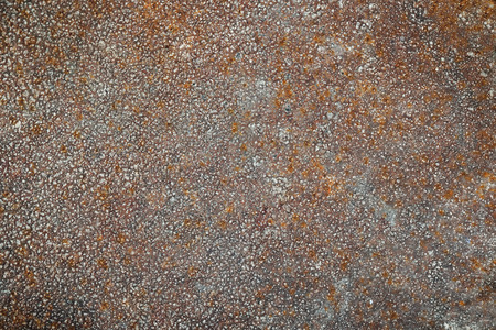 blowup: rusty grunge metal textured, close up