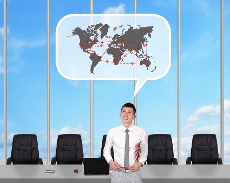 corredor de bolsa: Broker sueño de los vuelos internacionales