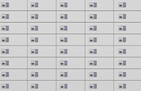 lockbox: Safe Deposit Boxes With Combination Lock