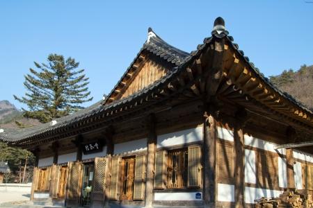 Temple in korea photo