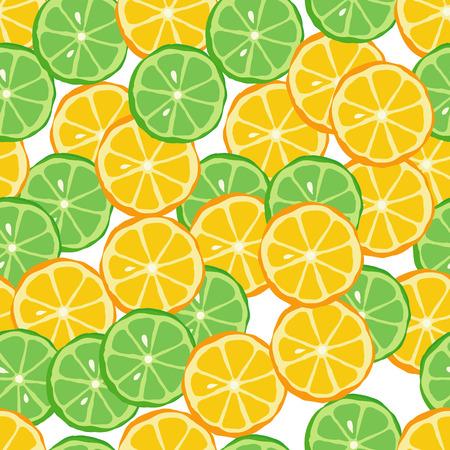 rapport: Citrus fruit seamless pattern