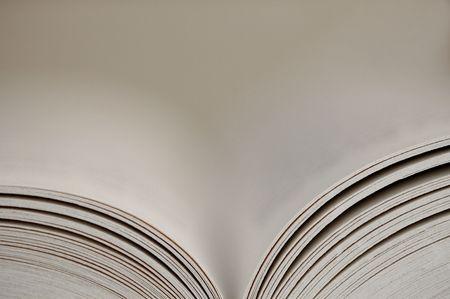 novel: Pages of a novel