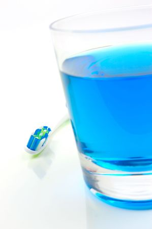 fluoride: Dental Care Stock Photo