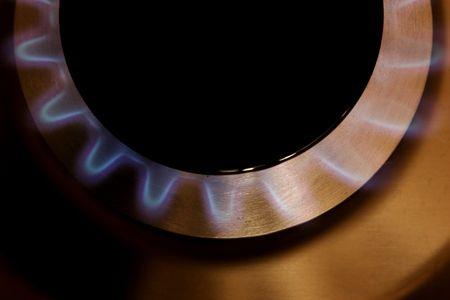 stovetop: Gas Burner