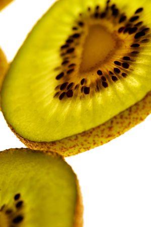 centred: Kiwifruit Stock Photo
