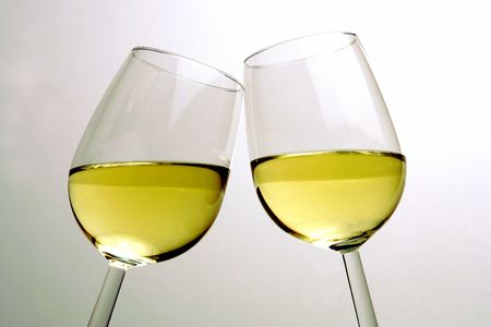 glass of white wine: Glasses of Wine