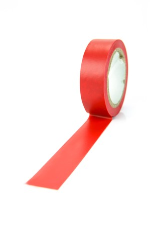 Electrical tape isolated against a white background Stock Photo - 4192379