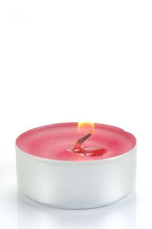 scented candle: Scented candals isolated against a white background