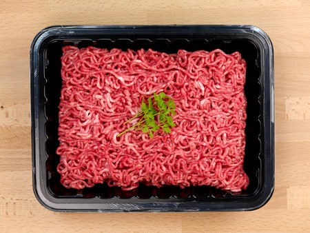 minced meat: Fresh minced beef