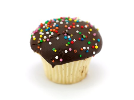 hundreds and thousands: Freshly baked cup cakes with hundreds and thousands