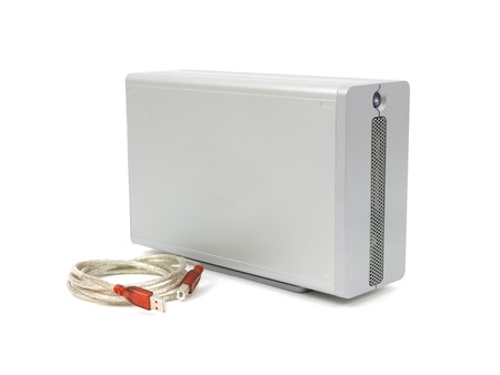 A storage device isolated against a white background photo