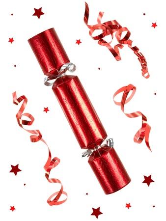 흰색 배경에 대해 격리 크리스마스 장식 스톡 콘텐츠