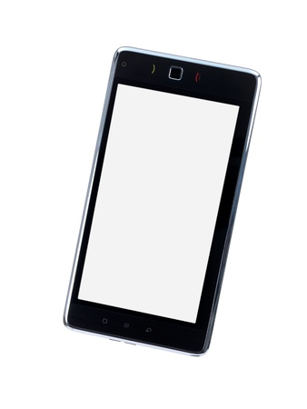 An android tablet isolated against a white background photo