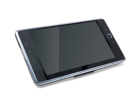 pc tablet isolated against a white background Stock Photo - 8446402