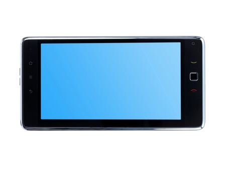 pc tablet isolated against a white background Stock Photo - 8446478