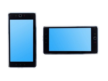 pc tablet isolated against a white background Stock Photo - 8446450