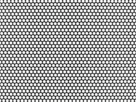 Metal mesh plating isolated against a white background
