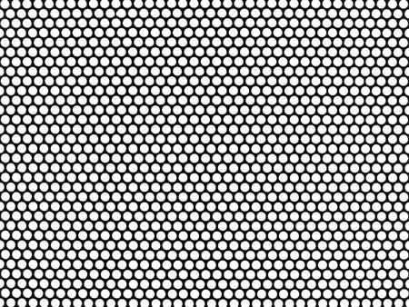 Placas de malla metálica aislados sobre un fondo blanco