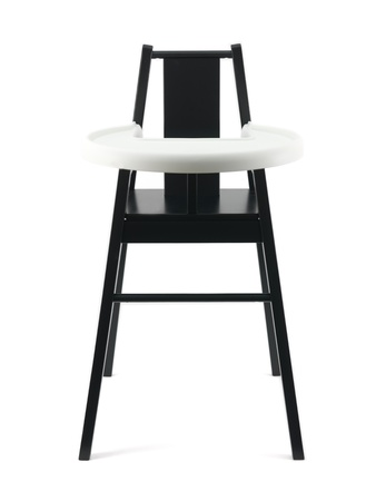 A highchair isolated against a white background Stock Photo - 8793847