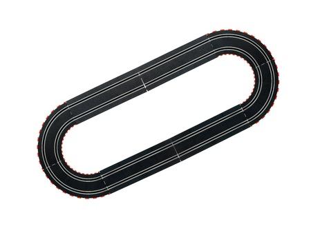 장난감 슬롯 자동차 경주 트랙의 이미지