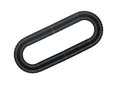 bandera carrera: Una imagen de una pista de slot juguete de carreras de coches