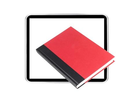 e book reader: A conceptual image of a modern e book reader