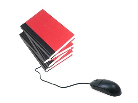 A conceptual image of a modern e book reader photo