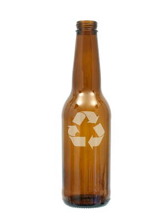 Bottles of beer isolated against a white background Stock Photo - 10012071