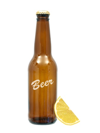 Bottles of beer isolated against a white background Stock Photo - 10011792