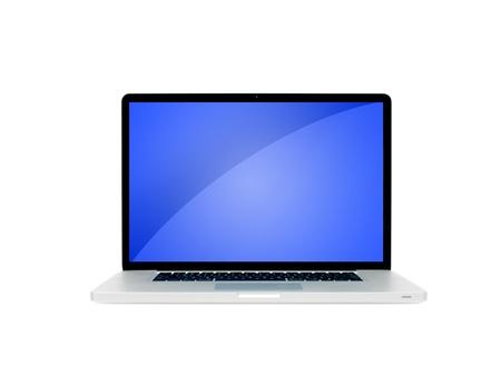 Ein Laptop auf einem Schreibtisch