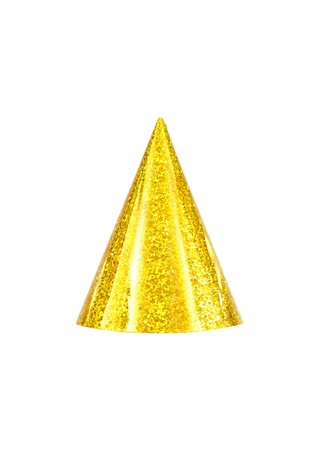 Party hats isolated against a white background Stock Photo - 10656009