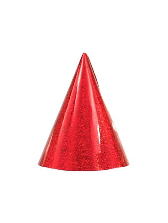 Party hats isolated against a white background Stock Photo - 10655967