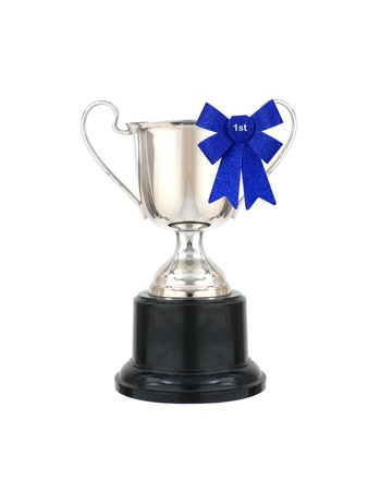 background trophy: A trophy isolated against a white background