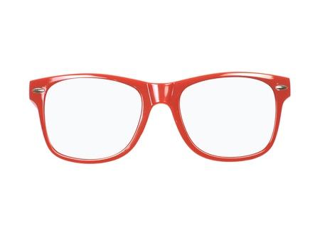 흰색 배경에 대해 격리 선글라스