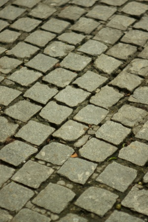 A shot of drive way cobble stones Stock Photo - 11202945