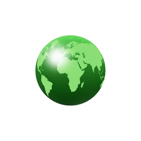 green globe: A creative world map abstract background file